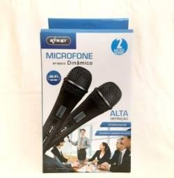 microfone dinâmico Profissional C/fio (fazemos entrega).