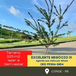 Promoção Terreno em condomínio Fechado 325m2 !!! A 10 minutos de João Pessoa!!!