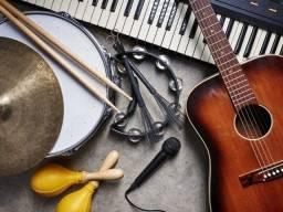 Aulas de instrumentos músicais