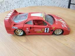 Miniatura Ferrari F40 (1987) escala 1:18 Burigotto made in Italy