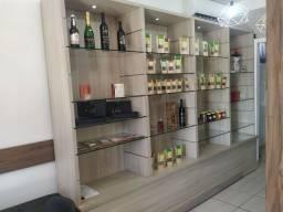 Móveis para loja de conveniência/lanchonete/cafeteria + toldo.