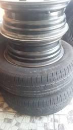 Vendo rodas e pneus 14