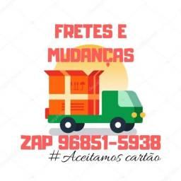 Carretos & Fretes - Orçamento no ZAP 9 6 8 5 1-5 9 3 8