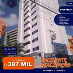 Apartamento para Venda em João Pessoa, Brisamar, 2 dormitórios, 1 suíte, 2 banheiros, 1 va