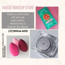 Promoção de maquiagens