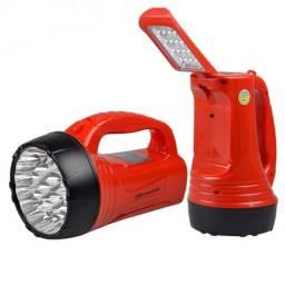Título do anúncio: Lanterna Dp-735 Luminária 23 + 16 Led Bi-volt - Recarregável