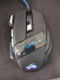 Mouse Gamer com iluminação LED
