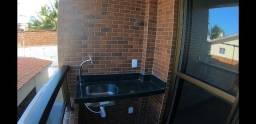 Apartamento novo, 2 quartos no Portal do Sol, pronto para morar