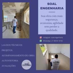 Engenheiro Civil - Perito - Avaliação de imóveis - ART - Fachada - Impermeabilização