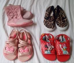 Sapatos infantil de menina