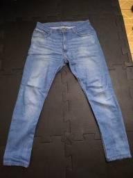 Calça jeans azul slim 44