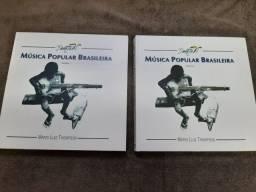 Livros Música Popular Brasileira Mario Luiz Thompson 2 Volumes