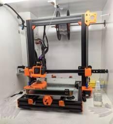 Impressora 3D Custom - Tela Touch, Placa 32Bit, Full alumínio, auto nivelamento