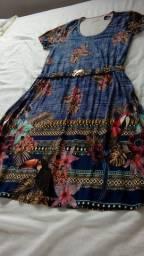 Um vestido malha liganete n GG 85 R$ um conjunto em elastano de 160. Por 99 .R$
