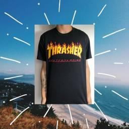 Camiseta thrasher clássica