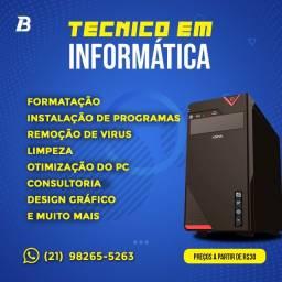 Tecnico em Informática Barato!
