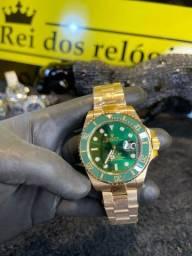 Título do anúncio: Rolex banhado a ouro 18k / suíço novo