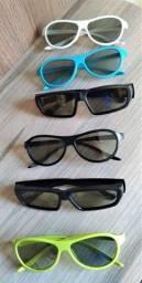 Óculos Passivos Cinema 3D Glasses LG e Lenovo