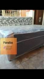 Cama box Espuma D28 selada c certificado pelo Inmetro