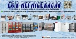 Manutenção em equipamentos de cozinha industrial - Ilha