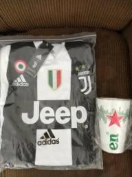 Camisa Time Juventus - Cristiano Ronaldo - Uniforme 2018