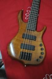 Contrabaixo luthier muito top