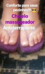 Chinelo massageador