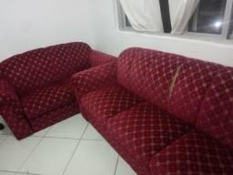Jogo de sofá 3 e 2 lugares