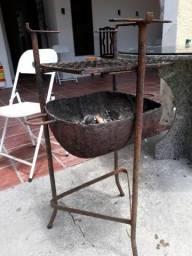 Churrasqueira de ferro