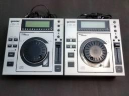 Cdj-20 gemini professional cd player (o par) + Behringer Pro Mixer VMX200USB 2-channel DJ