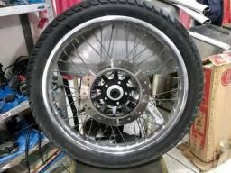 Roda completa Broz original freio a disco