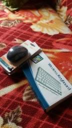 Mouse e Teclado para Tablet, Celular ou Computador