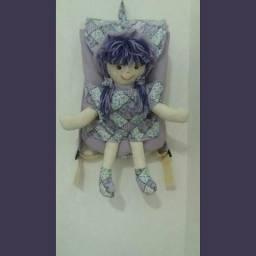 Vendo mochila infantil com a bonequinha