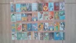 416 cartões telefônicos coleção