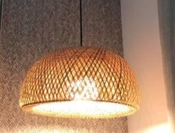 Luminária/pendente de fibra