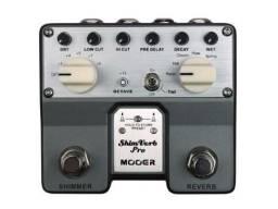 Pedais de Guitar Reverb driver e compressor