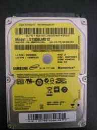 HD Samsung 500GB p/ Notebook
