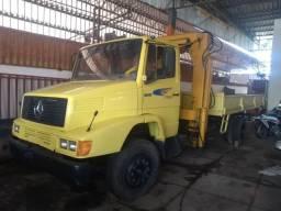 Caminhão munck 1218 - 1990