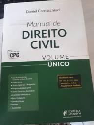 """Livro """"Manual de Direito Civil"""""""