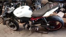 Moto P Retiradas De Peças/sucata Triumph Triple 675 Ano 2015