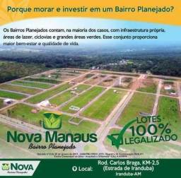 Venha Morar no Bairro Planejado, Lotes Prontos p/ Construir com Ent. a partir de R$ 299