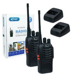 Kit Radio comunicador knup-(Loja Wiki)-)3 meses de Garantia