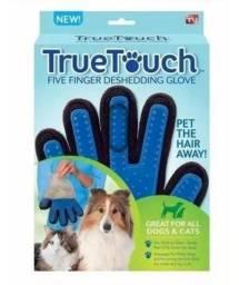 Luva Escova Tira Remove Pelo Cachorro Gato Pet Magnética Top
