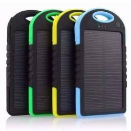 Carregadore Solar Universal á Prova Dagua