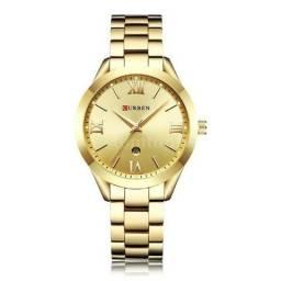 111e3def36f Relógio Curren Feminino Original Novo