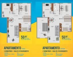 Apartamento em condomínio fechado | 02 dormitórios | itinga-araquari | mcmv