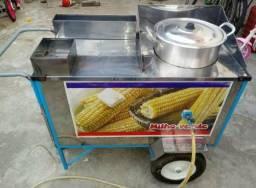 Carrinho de vender milho