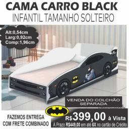 Cama Carro Black