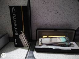 Gaita (harmônica) Swan Chromatic - Harmonica 1040