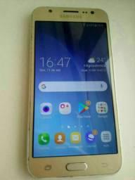 Samsung Galaxy J5 dourado top